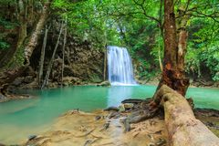 Waterfalls In Deep Forest royalty free stock photography