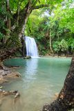 Waterfalls In Deep Forest royalty free stock photo
