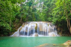 Waterfalls In Deep Forest royalty free stock images