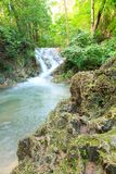 Waterfalls In Deep Forest stock photo