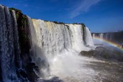 Waterfalls. Foz do Iguaçu Royalty Free Stock Photos