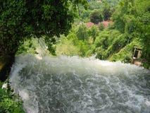 The waterfalls of Edessa Greece Stock Photo
