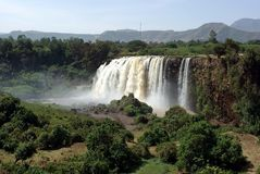 Waterfalls in Ethiopia Royalty Free Stock Images