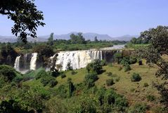 Waterfalls in Ethiopia Stock Images