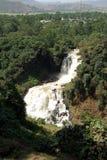 Waterfalls in Ethiopia. The Blue Nile waterfalls in Ethiopia, in Africa Stock Image