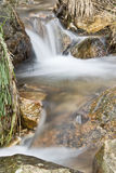 Waterfalls in Extremadura. Royalty Free Stock Image