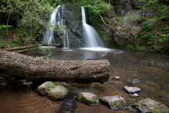 Waterfalls in the Fairy Glen Stock Image