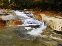 Waterfalls, Falls, Autumn, Landscape Stock Photography