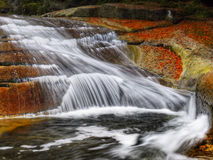Waterfalls, Falls, Autumn, Landscape Royalty Free Stock Photos