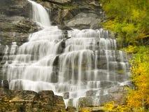 Waterfalls, Falls, Autumn, Norway Stock Photography