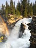 Waterfalls, Falls, Canyon, Rainbow, Canada Stock Photo