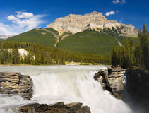 Waterfalls Falls Mountain Canada Stock Images