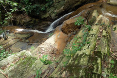 Waterfalls in the forest, Thailand royalty free stock photos
