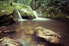 Waterfalls in the forest Royalty Free Stock Images