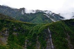Waterfalls Fox Glacier New Zealand Royalty Free Stock Images