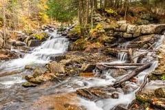 Waterfalls Gatineau Park Chelsea Quebec stock photo