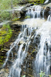 Waterfalls in Glacier. Waterfall in Glacier National Park Stock Photo