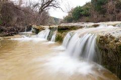 Waterfalls at the green belt Royalty Free Stock Photo
