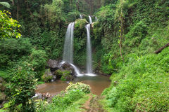 Waterfalls. Grejegan kembar waterfalls central java indonesia Royalty Free Stock Images