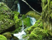 Waterfalls group Stock Photos