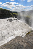 Waterfalls gullfoss Royalty Free Stock Photo
