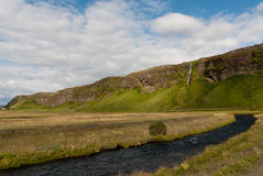 Waterfalls in Iceland Royalty Free Stock Photo