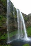 Waterfalls, Iceland. Waterfalls along Ring Road, Iceland Royalty Free Stock Photos