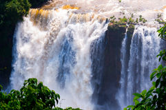 Waterfalls, Iguassu Falls, Brazil Stock Photos