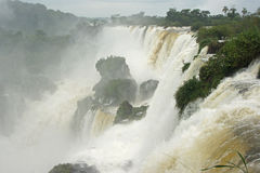 Waterfalls of Iguazu, Argentina, South America Royalty Free Stock Image