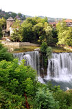Waterfalls in Jajce Royalty Free Stock Photo