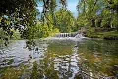 Waterfalls of Jajce Stock Images