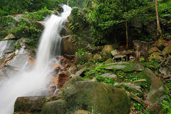 WaterFalls,Jeram Toi Waterfalls 03 Stock Photo