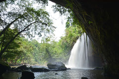 Waterfalls in jungle Stock Images