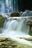 Waterfalls in Karpacz royalty free stock image