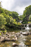 Waterfalls in Kipahulu, Maui Stock Images