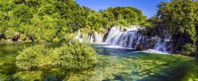 Waterfalls Krka, Croatia Stock Photos
