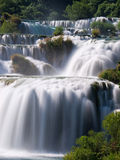 Waterfalls in Krka National Park Royalty Free Stock Photos