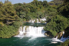 Waterfalls, Krka National Park, Croatia Stock Images