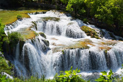 Waterfalls in Krka National Park, Croatia Stock Photography