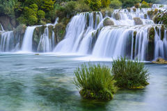 Waterfalls in Krka National Park, Croatia. Waterfalls in Krka National Park (Croatia Royalty Free Stock Image