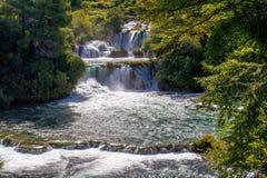 Waterfalls Krka Stock Image
