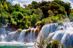 Waterfalls Krka Stock Image