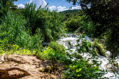Waterfalls Krka Royalty Free Stock Photos