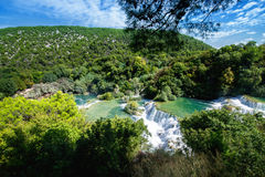 Waterfalls Krka Royalty Free Stock Photography