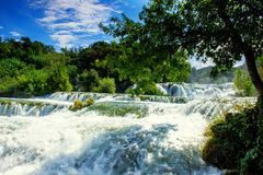 Waterfalls Krka Royalty Free Stock Images