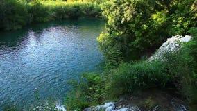 Waterfalls, Krka NP, Dalmatia, Croatia, Europe stock video