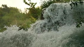Waterfalls, Krka NP, Dalmatia, Croatia, Europe Stock Photos