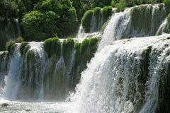 Waterfalls Krka Royalty Free Stock Images