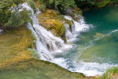 Waterfalls on Krka River. National Park, Dalmatia, Croatia Royalty Free Stock Photo