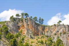 Waterfalls on Krka River. National Park, Dalmatia, Croatia Royalty Free Stock Photography